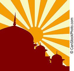 vettore, moschea