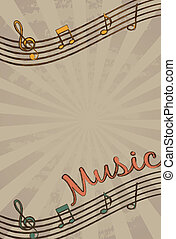 vettore, musica