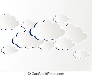 vettore, nuvola