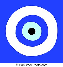 vettore, occhio, Simbolo,  -, male, greco, protezione