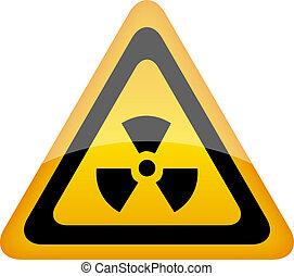 vettore, radiazione, segno