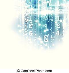 vettore, rete, astratto, globale, illustrazione, fondo, sicurezza, tecnologia