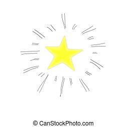 vettore, stella