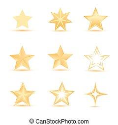 vettore, stelle
