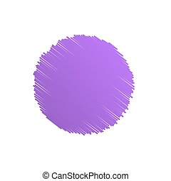 vettore, viola, astratto, illustrazione, fondo, cerchio, scarabocchio