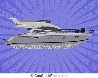 vettore, yacht