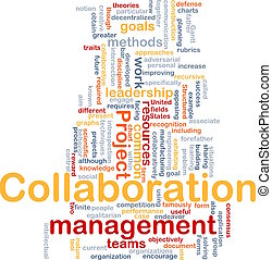 vezetőség, együttműködés, fogalom, háttér