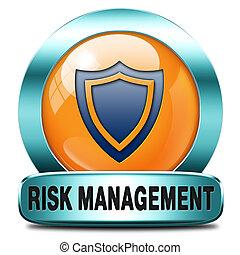 vezetőség, kockáztat