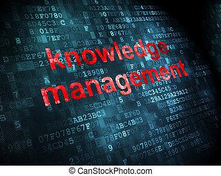 vezetőség, tudás, háttér, digitális, oktatás, concept: