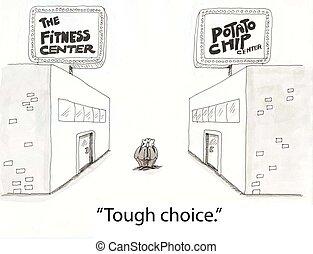 vhodnost, výběr