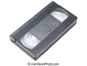 vhs cassette - old vhs cassette isolated