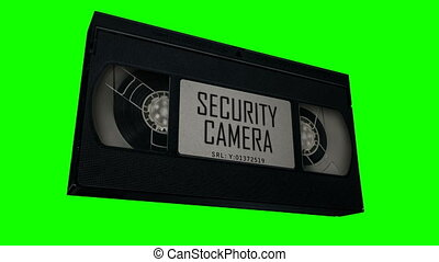 VHS Tape Security Camera Evidence - This VHS tape makes for...