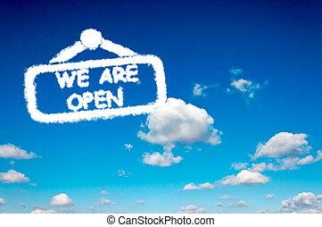 vi, åbn