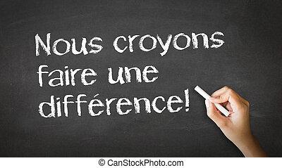 vi, tro, ind, indgåelse, en, forskel, (in, french)