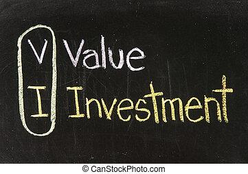 VI VALUE INVESTMENT