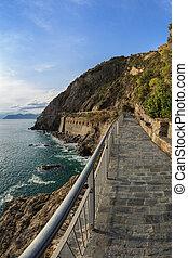 Via dell amor of Cinque Terre