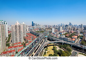 viaducts, passage supérieur, deux, intersection