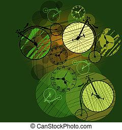 viagem mundial, ao redor, tempo
