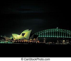 viagem, para, austrália
