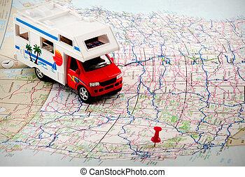 viagem, planos, mapas