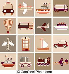 viagem, transporte
