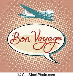 viagem, vôos, avião, turismo, bon