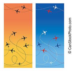 viaggiare, 2, aria