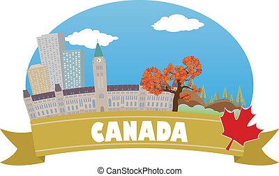 viaggiare, canada., turismo