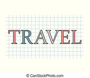 viaggiare, concetto