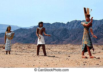 viaggiare, foto, di, israele, -timna, parco, e, re, solomon's, miniere