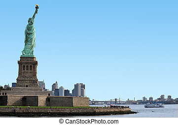 viaggiare, foto, di, new york, -, manhattan