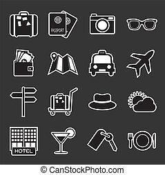 viaggiare, icona