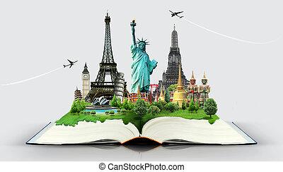 viaggiare, libro