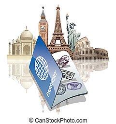 viaggiare, passaporto
