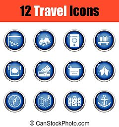 viaggiare, set., icona