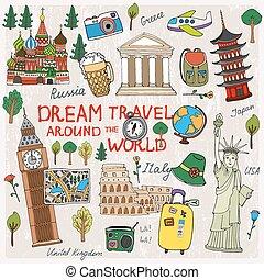 viaggiare, tempo