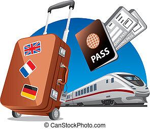 viaggiare, treno