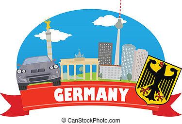 viaggiare turismo, germany.