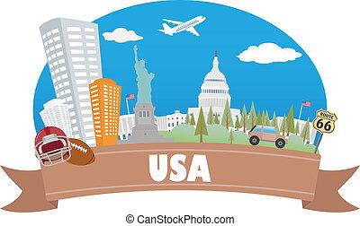 viaggiare turismo, usa.