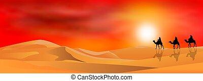 viaggiatori, deserto