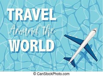 viaggio mondo, intorno