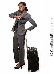 viajante, negócio