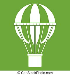 viajar mundial, concepto, icono, verde