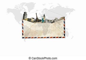viaje, alrededor del mundo