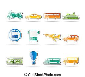 viaje, transporte, gente