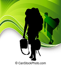 viajeros, turista