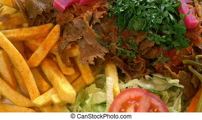 viande, chiche-kebab, doner