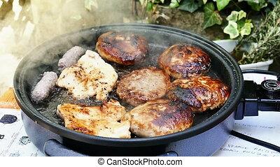 viande hachée, rôti