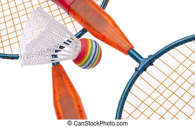 Vibrant Badminton Equipment