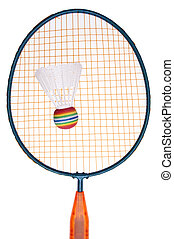 Vibrant Badminton Equipment Raquet with Shuttlecock or ...
